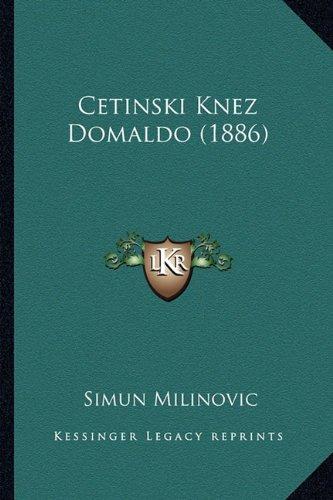 Cetinski Knez Domaldo (1886) 9781165372393