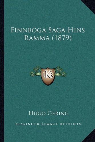 Finnboga Saga Hins Ramma (1879) 9781165418749