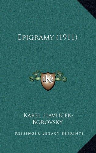 Epigramy (1911) 9781165445646