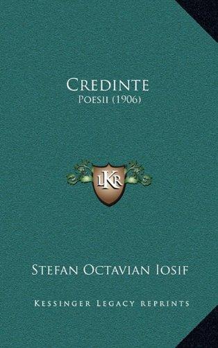 Credinte: Poesii (1906) 9781165388127