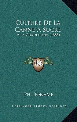Culture de La Canne a Sucre: ALA Guadeloupe (1888) 9781167877841