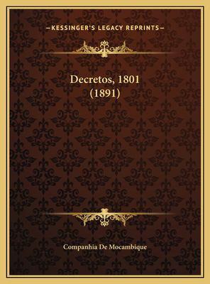 Decretos, 1801 (1891) 9781169423749