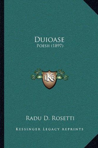Duioase: Poesii (1897) 9781165413201