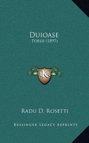 Duioase: Poesii (1897) 9781165439126