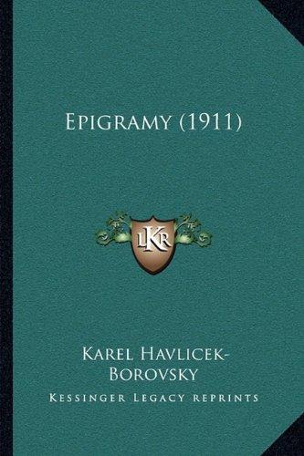 Epigramy (1911) 9781165420292