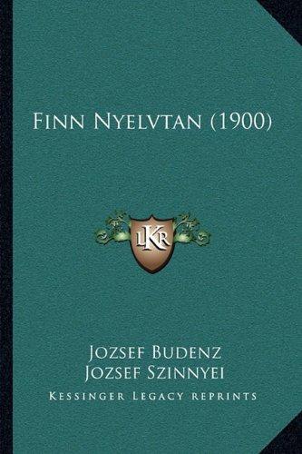 Finn Nyelvtan (1900) 9781165409006