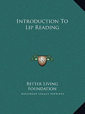 Introduction to Lip Reading 9781169698970