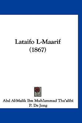 Lataifo L-Maarif (1867) 9781160915311