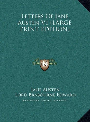 Letters of Jane Austen V1 9781169904064