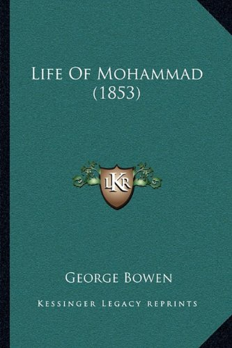Life of Mohammad (1853) 9781166027681