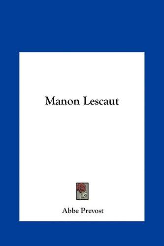 Manon Lescaut 9781161441253