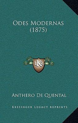 Odes Modernas (1875) 9781164984511