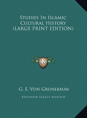 Studies in Islamic Cultural History 9781169931343