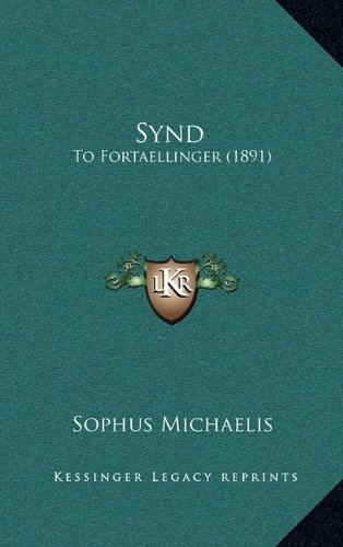 Synd: To Fortaellinger (1891) 9781165843756