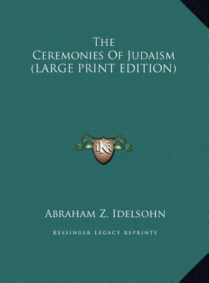The Ceremonies of Judaism 9781169932289