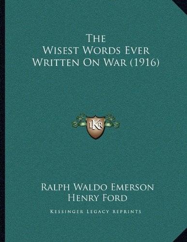 The Wisest Words Ever Written on War (1916)
