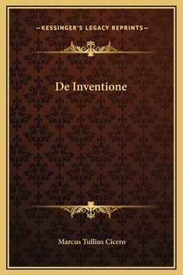 de Inventione 9781169260498