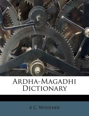 Ardha-Magadhi Dictionary 9781174537424