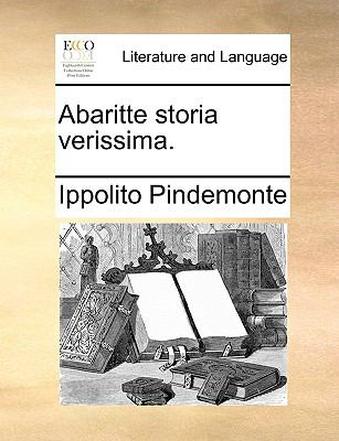 Abaritte Storia Verissima. 9781170554050
