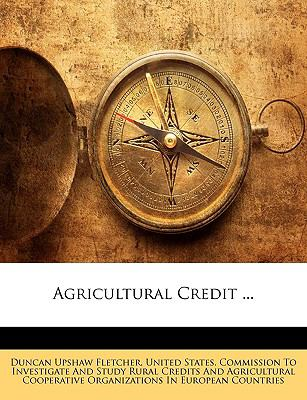 Agricultural Credit ...
