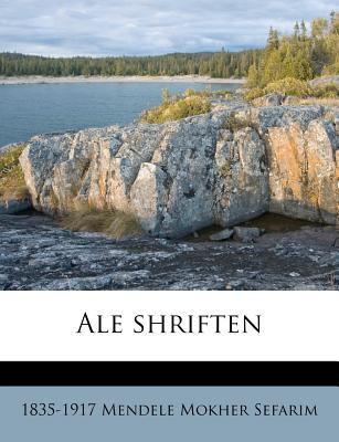 Ale Shriften 9781175692061