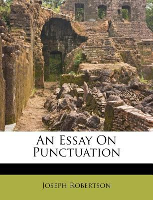An Essay on Punctuation 9781178877694