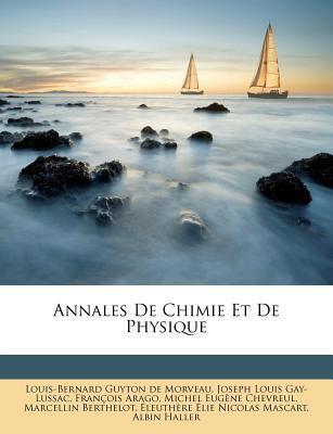 Annales de Chimie Et de Physique 9781179075099