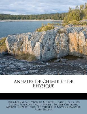 Annales de Chimie Et de Physique 9781179124216