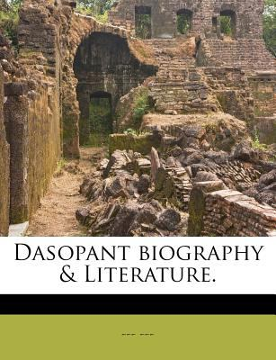 Dasopant Biography & Literature. 9781175768421
