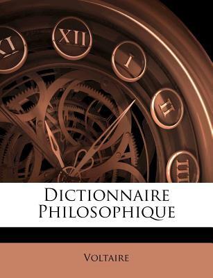 Dictionnaire Philosophique 9781175195067