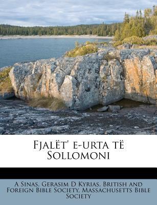 Fjal T' E-Urta T Sollomoni 9781178664386