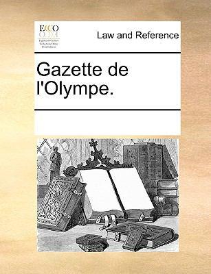 Gazette de L'Olympe. 9781170333686