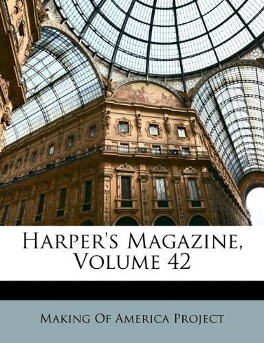 Harper's Magazine, Volume 42 9781174703096