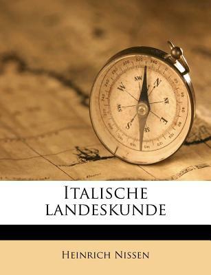 Italische Landeskunde 9781178658989