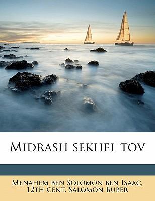 Midrash Sekhel Tov 9781172342600