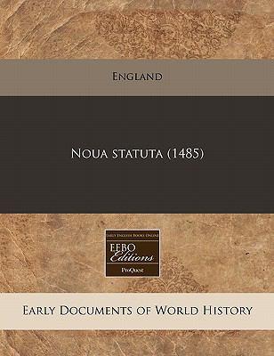 Noua Statuta (1485) 9781171337775