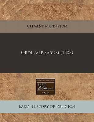 Ordinale Sarum (1503)