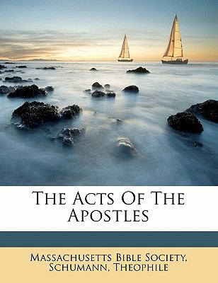 The Acts of the Apostles 9781172528219