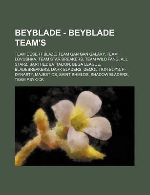 Beyblade - Beyblade Team's: Team Desert Blaze, Team Gan Gan
