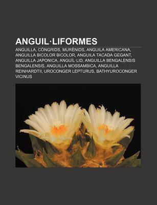 Anguil Liformes: Anguilla, C Ngrids, Mur Nids, Anguila Americana, Anguilla Bicolor Bicolor, Anguila Tacada Gegant, Anguilla Japonica 9781232744108