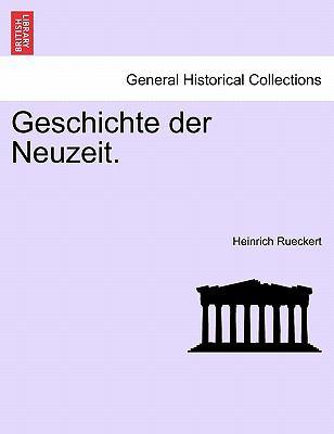 Geschichte Der Neuzeit. 9781241430542