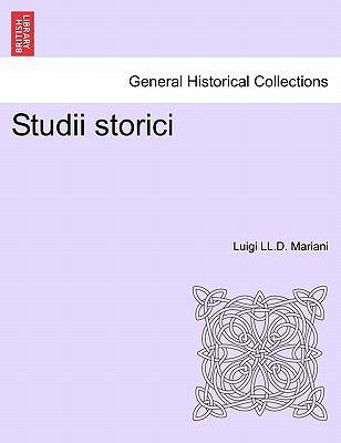 Studii Storici 9781241450175