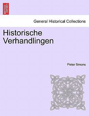 Historische Verhandlingen 9781241451349