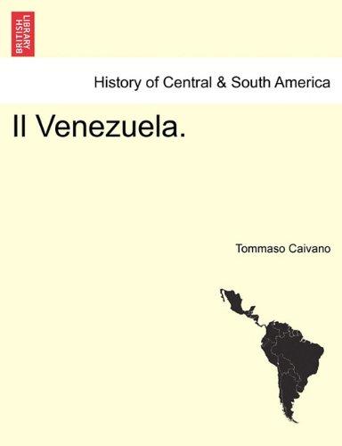 Il Venezuela. 9781241473921