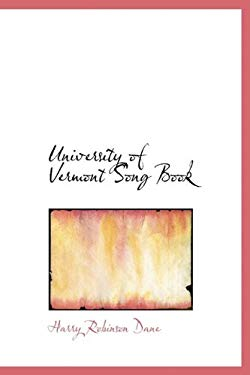 University of Vermont Song Book 9781241648077