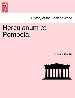 Herculanum Et Pompeia. 9781241699062
