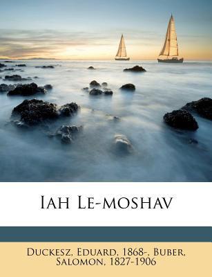 Iah Le-Moshav 9781246203172