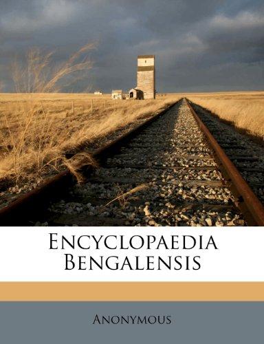 Encyclopaedia Bengalensis 9781248465004