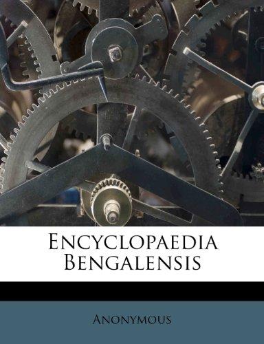 Encyclopaedia Bengalensis 9781248778234