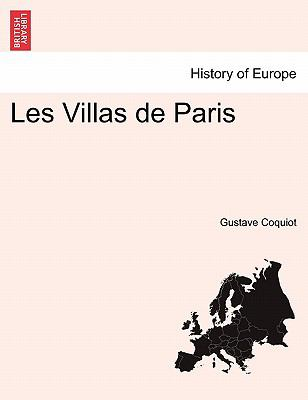 Les Villas de Paris 9781241362744